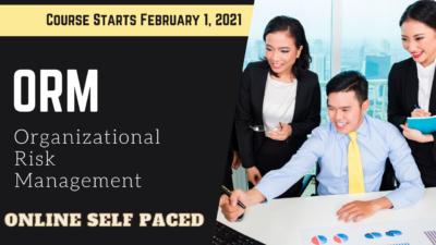 Organizational Risk Management