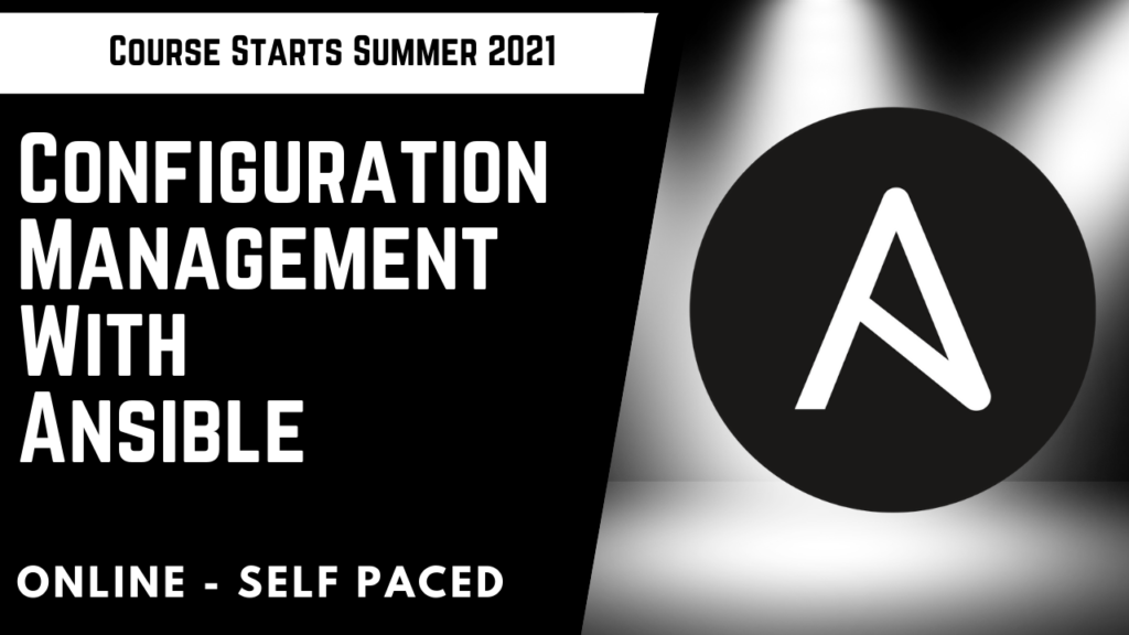 Configuration Management with Ansible